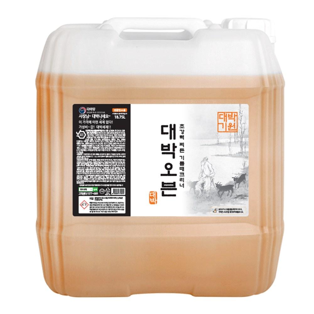 대박 업소용 레몬향 오븐크리너 18.75L 대용량