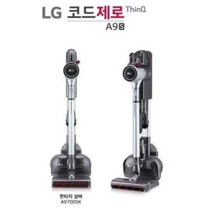 LG전자 코드제로 스틱 청소기 A9700SK, 실버