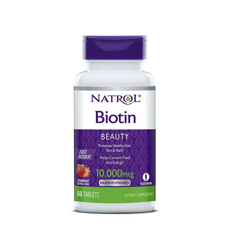 나트롤 비오틴 비오틴효과 10000mcg 60정 딸기 3팩