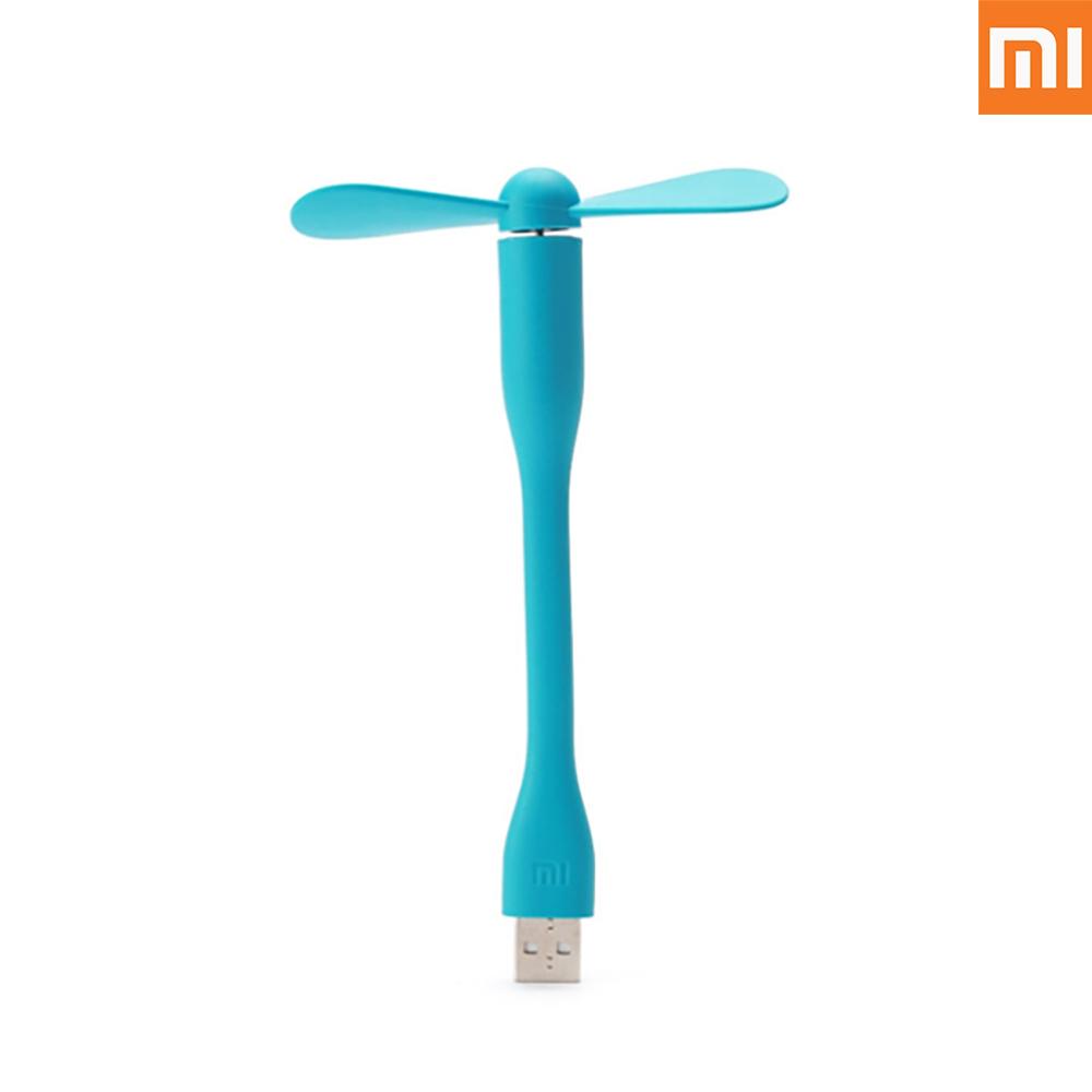 샤오미 정품 휴대용 USB 미니선풍기, 블루, 샤오미 휴대용 선풍기