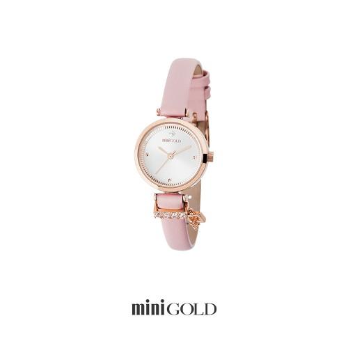 미니골드 [미니골드]심플 롤렛 시계 핑크 W172LWPK