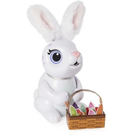 Zoomer Hungry Bunnies Chewy 5 세 이상 먹는 대화 형 로봇 토끼 PROD1630002154, 한 가지 색