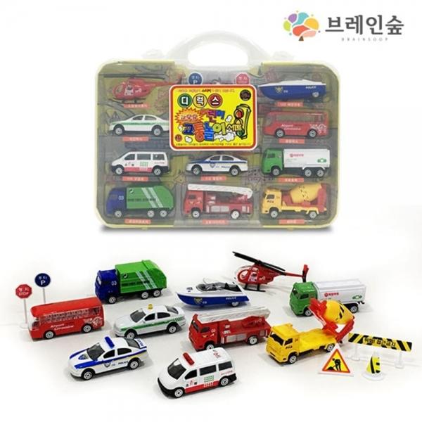 디런스 어린이 교통놀이 자동차 /TJS-32938 장난감 완구 자동차 교통놀이 표지판, 본상품 선택