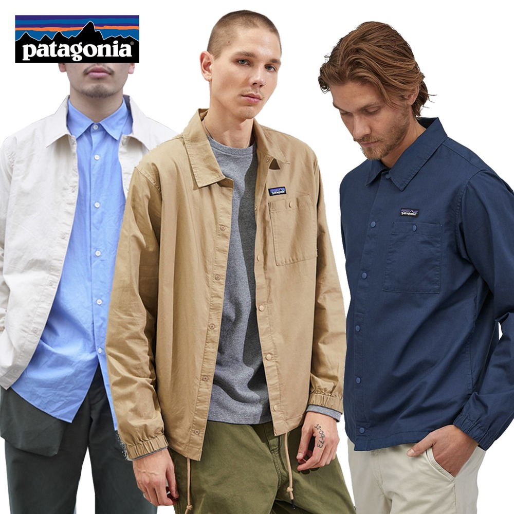 파타고니아 라이트웨이트 헴프 코치 바람막이 자켓