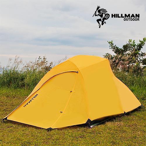 힐맨 [HILLMAN] 힐맨코리아 클라우드 UP SMART 2인용 텐트 그라운드시트 포함, 선택완료, 레드
