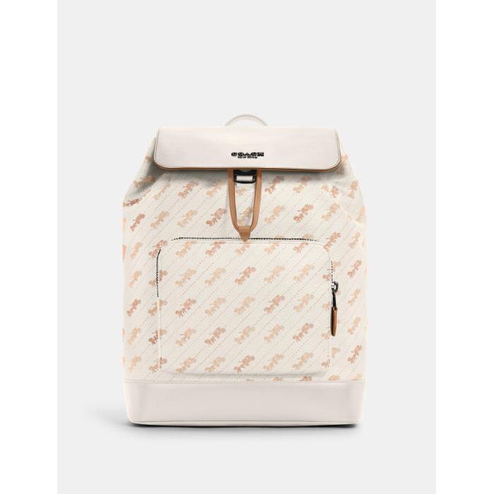 [코치가방]남성가방/메신저백/서류가방Turner Backpack With Horse and Carriage Dot Print