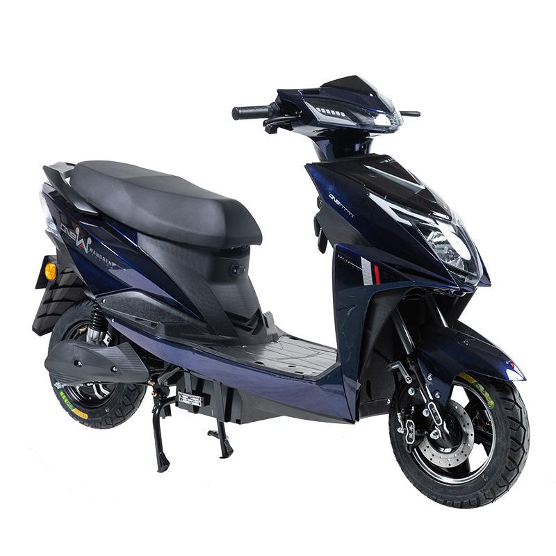 [ENGWE] WANGBEN ZS2 60V-72V 20A-32A 성인 이륜 전기 오토바이 대보 전동 스쿠터, 블루, ZS2-80KM