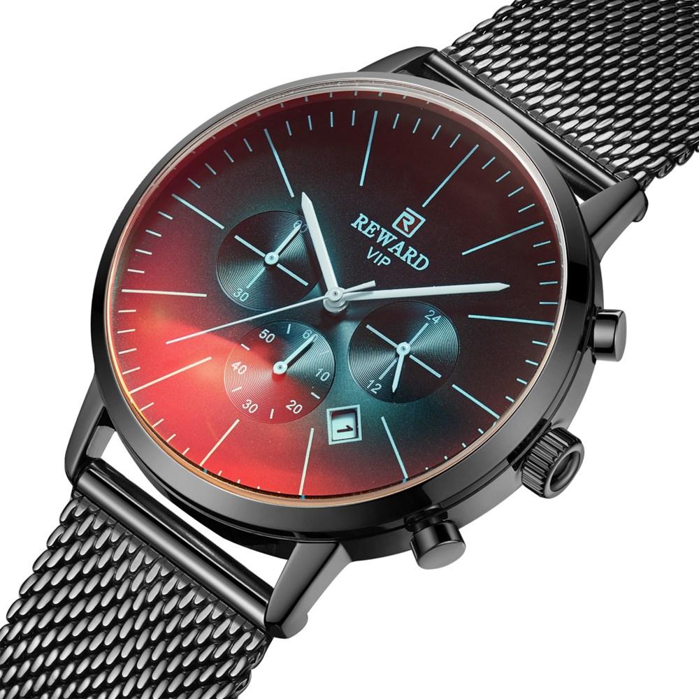 바바존 손목시계 변색유리 남자 시계 남자손목시계 남성손목시계 남성시계 REWARD 004