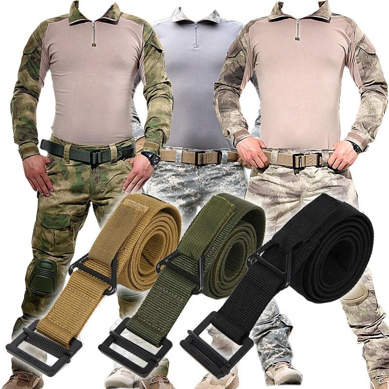 개구리 유니폼 블랙 매전술 허리벨트 미국 훈계함 CQB 수직 구원 장비 나일론 넬라