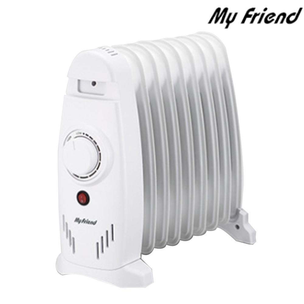 마이프랜드 욕실히터 9핀 전기 라디에이터 MFR-1809M, 단일상품