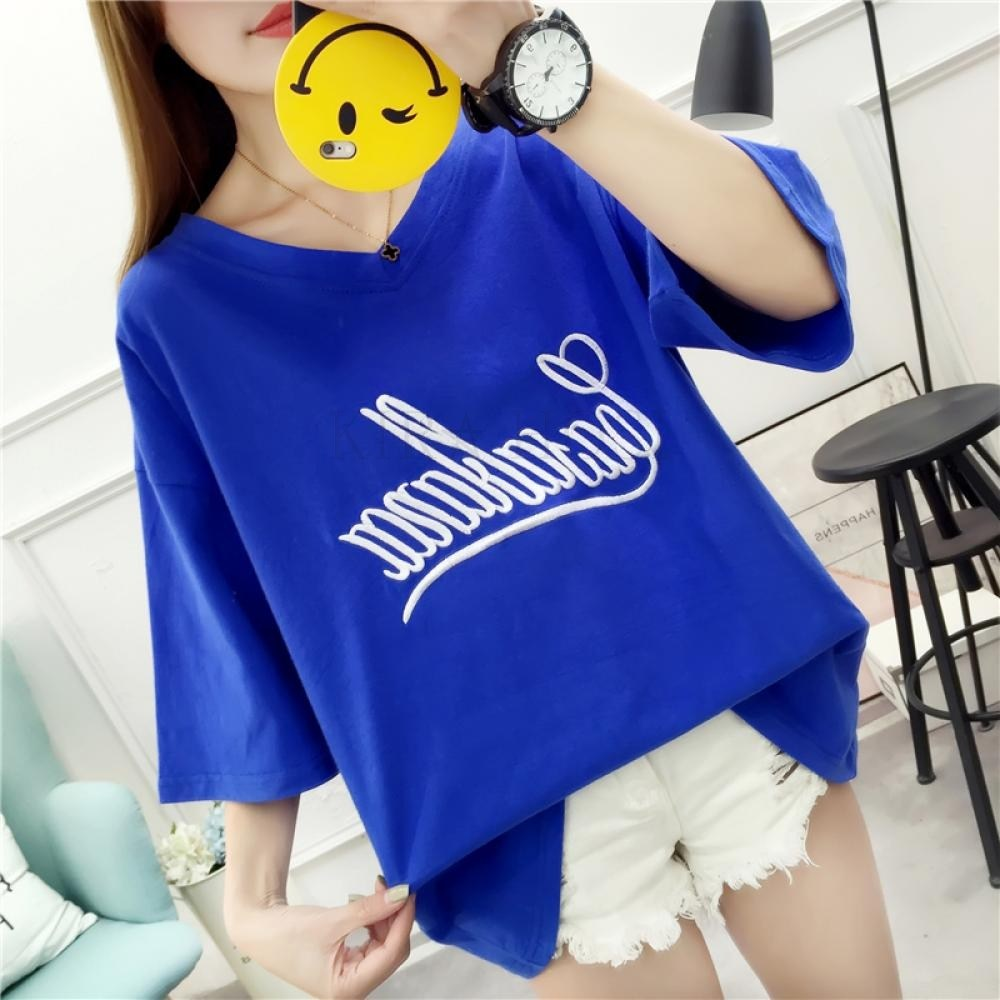 kirahosi 여성 반팔 티셔츠 여름 반팔티 해외여행 여름옷 80 GS6+ 스마트스트랩 증정 AG3w432