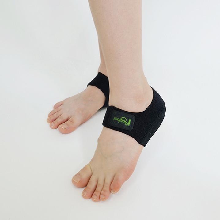 허그풋 발뒤꿈치 보호 패드 족저근막염 기능성 깔창