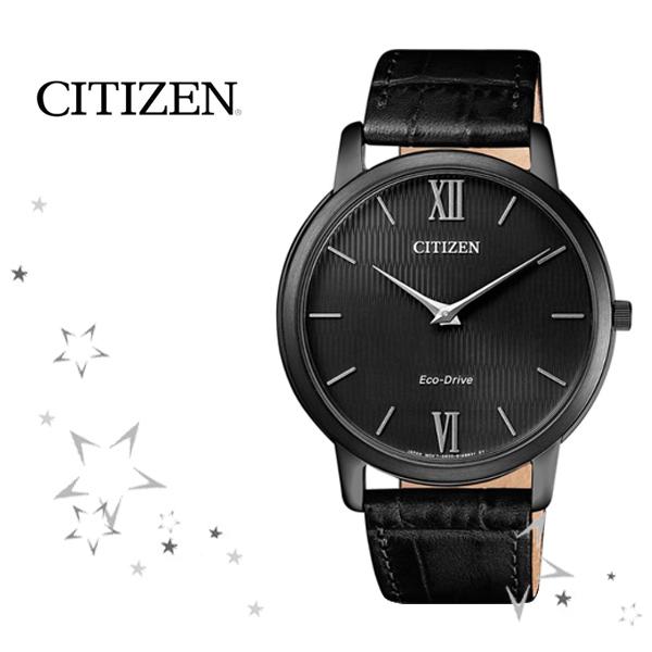 시티즌 AR1135-10E 남성 초슬림 에코드라이브 시계