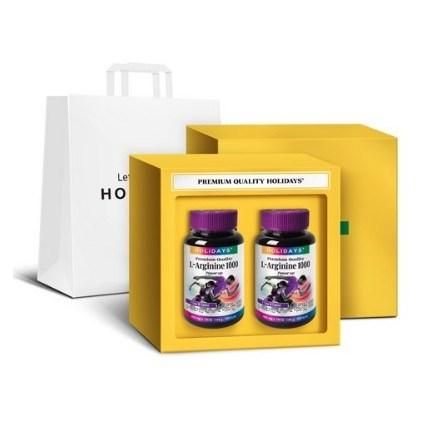 홀리데이즈 L 아르기닌 선물세트 + 쇼핑백, 180정, 3개-7-1072849173