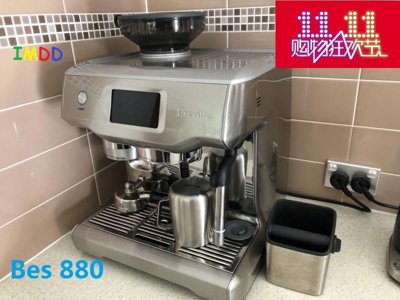 커피메이커 Breville bes870업그레이드된 버전 bes880반자동 커피, T03-bes870