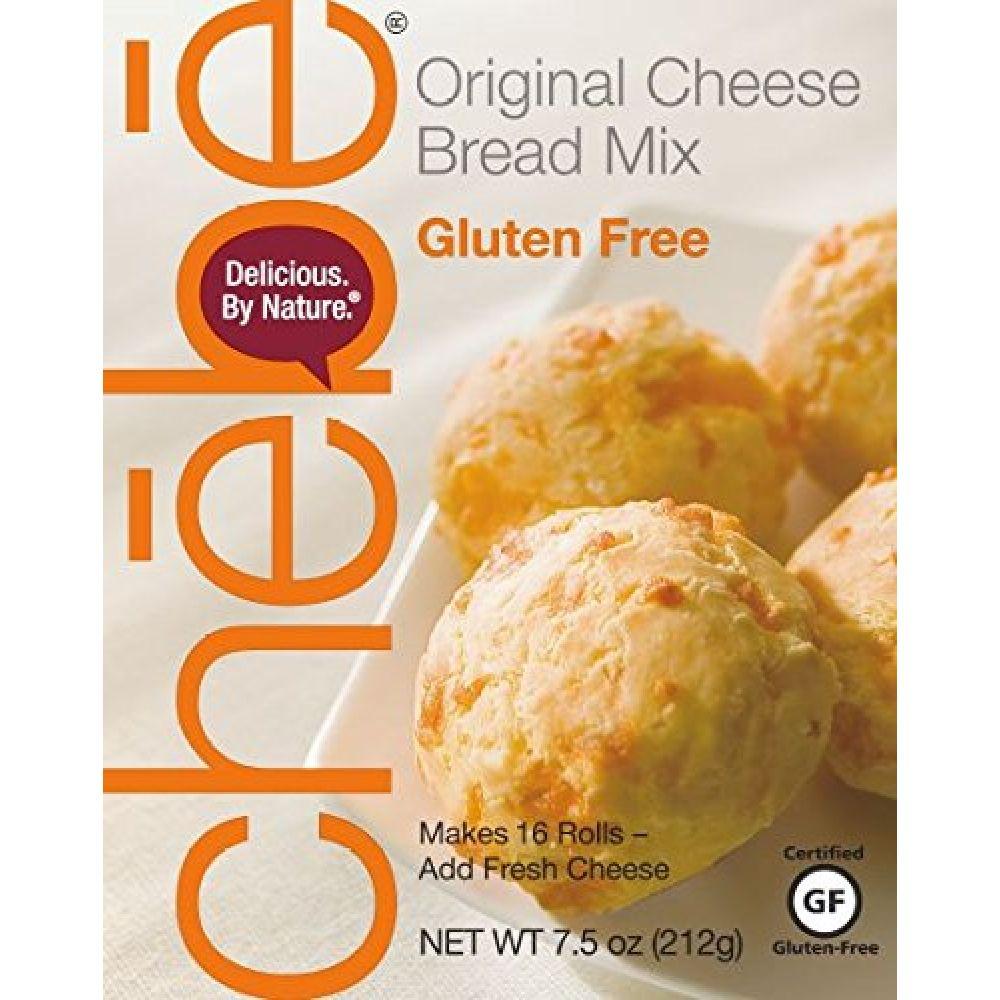 Chebe Bread 쳅 브레드 무 글루텐 오리지널 빵 믹스 213 g 8 팩, 213g