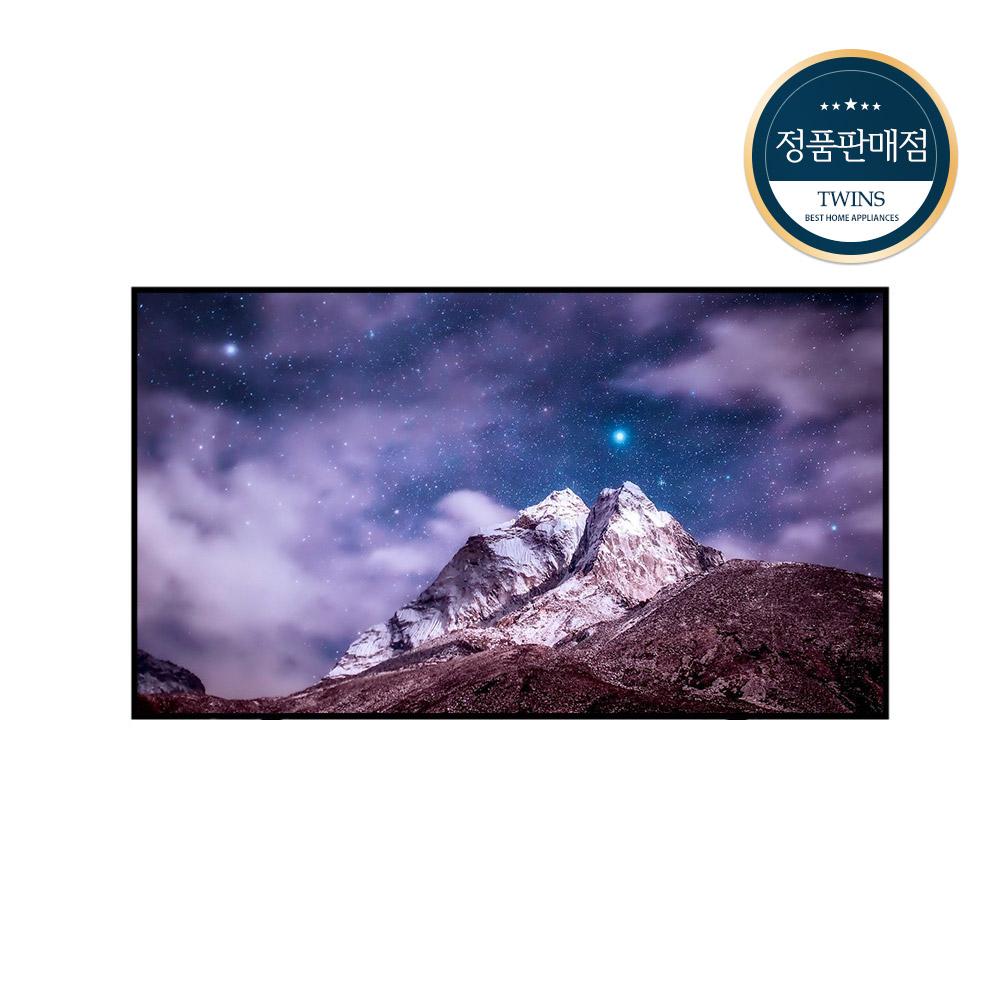 삼성전자 QLED 4K TV (138cm 벽걸이형) KQ55QA80AFXKR 방문설치, 벽걸이형 (POP 5527989375)