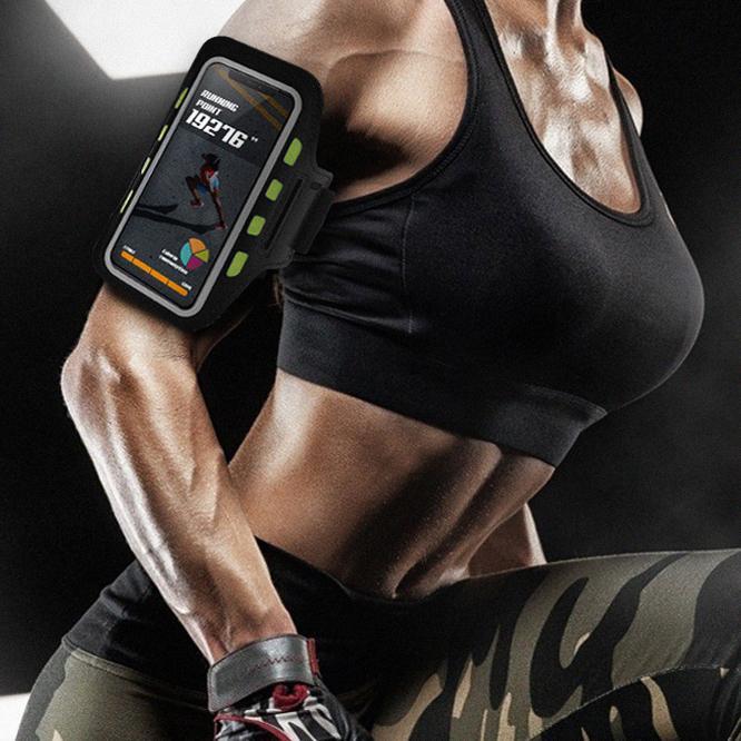 히키스 운동 런닝 할때 핸드폰 암밴드 스마트폰 팔걸이 (50g 초경량) 암밴드