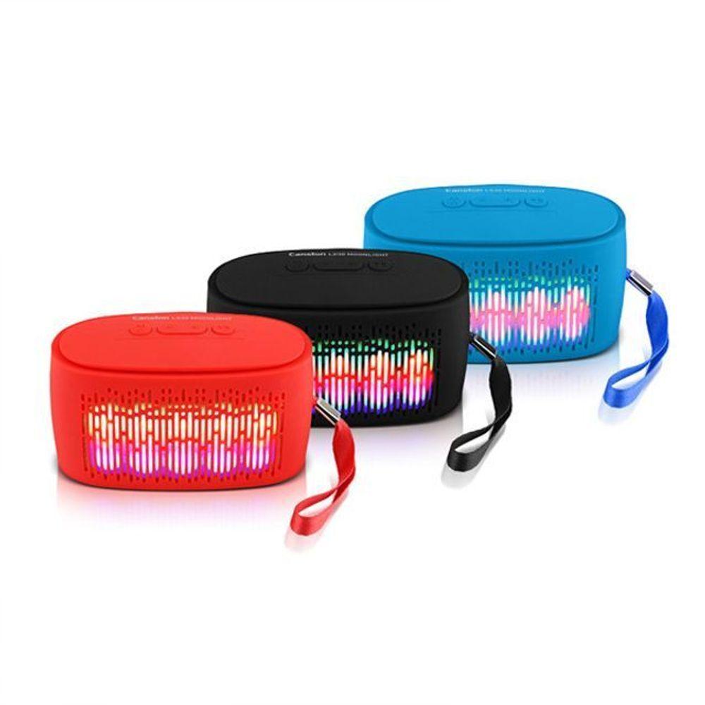 아리아니아리아니샵_AHH_8139144 (색상 : 레드) 캔스톤 스피커 LX30 Moonlight LED, 단일상품, 레드
