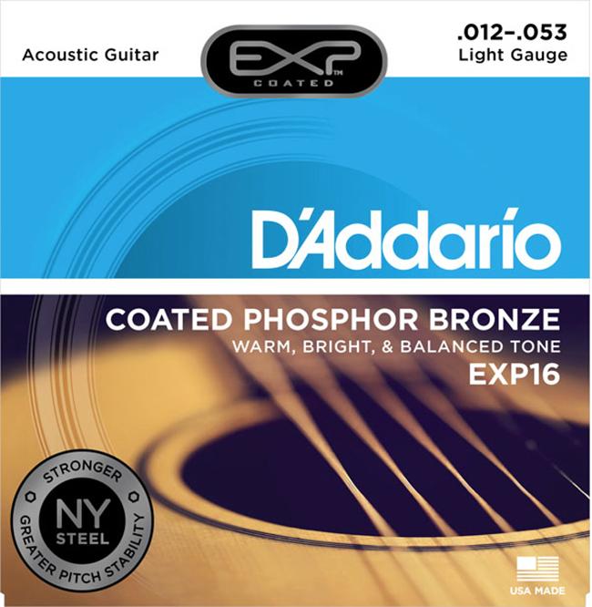 Daddario NY EXP16 (012-053) 다다리오 통기타줄, *, *