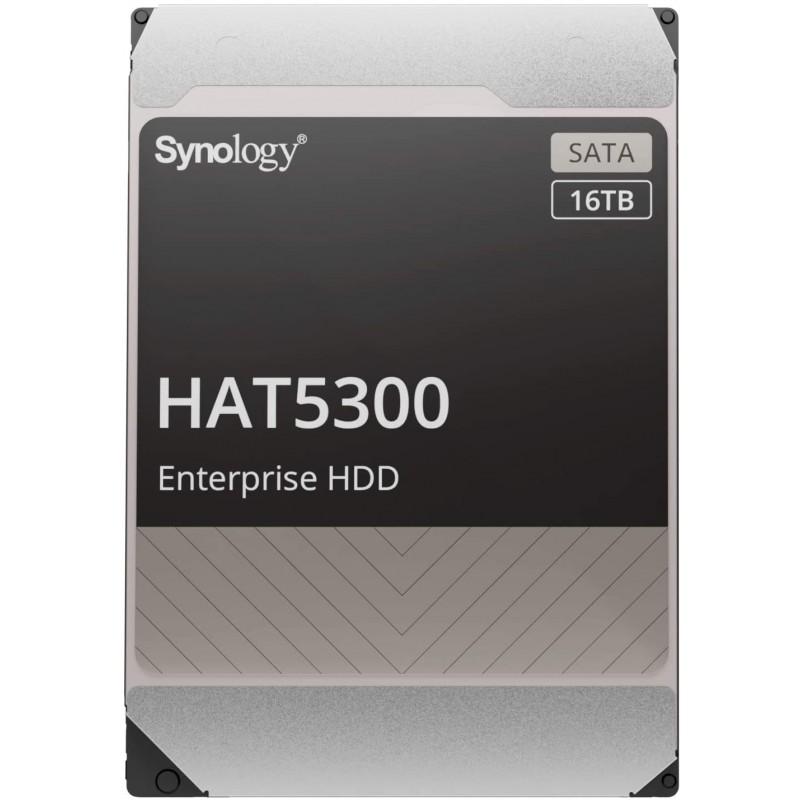 [해외] [NAS용 HDD]Synology HAT5300-16T[16TB 3.5SATA 7 200rpm/엔터프라이즈 그레이드 HDD(MTTF250만, 1
