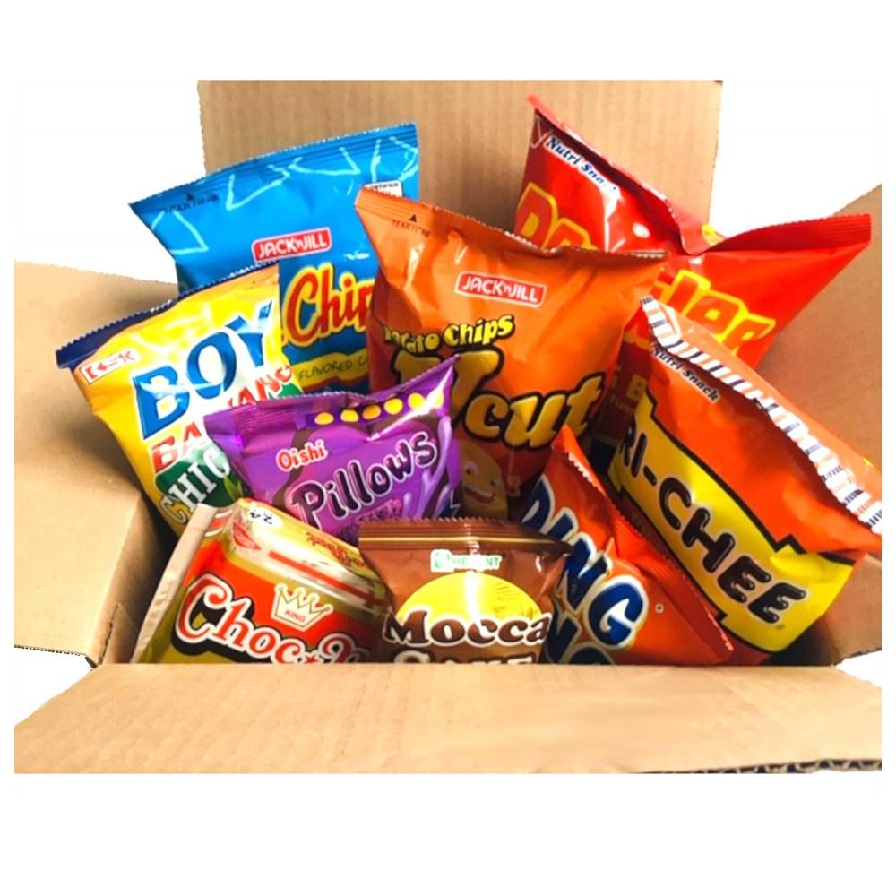 World Food Mission Classic Filipino Snacks Box 월드푸드 미션 클래식 필리핀 스낵 박스 9개입, 1개