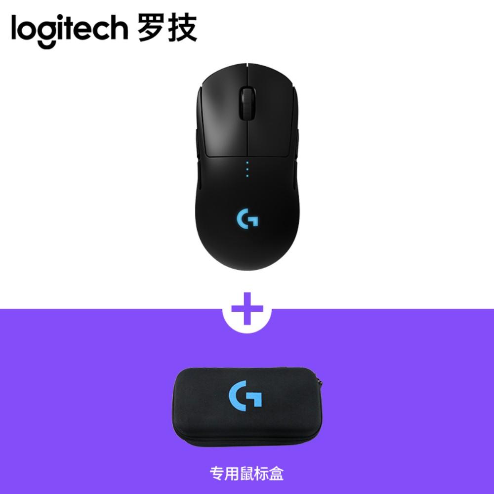 로지텍 G PRO 무선 게이밍 게임용 마우스 M-R0070, 표준, G PRO 마우스 + 마우스 박스 신품