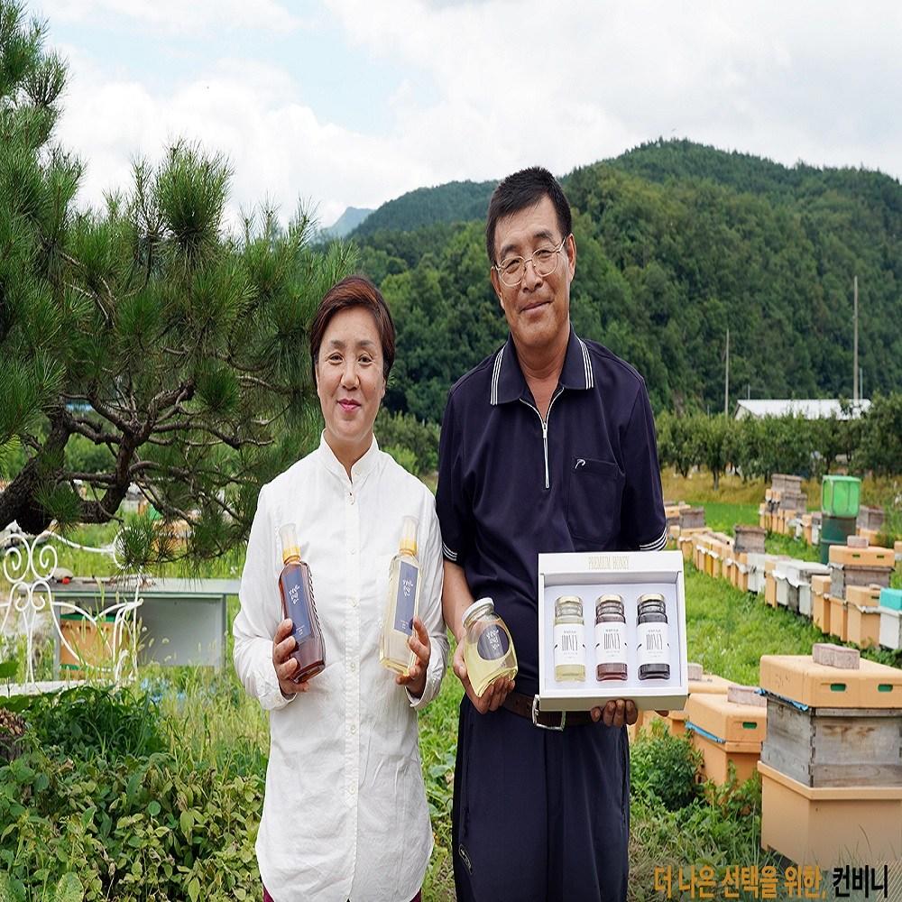 물촌벌꿀 아카시아꿀 2.4kg 국내산 100%천연꿀, 1세트