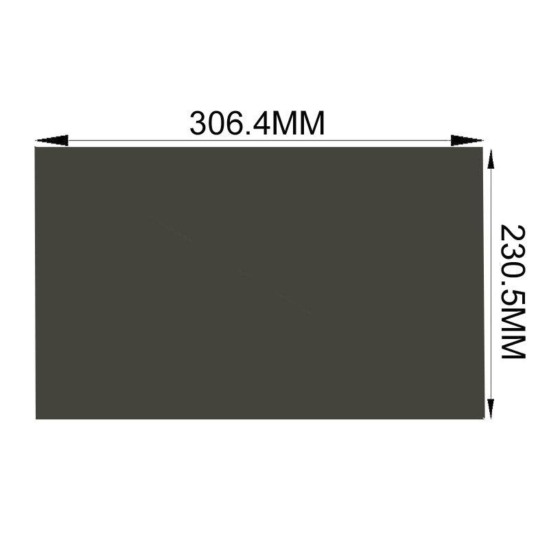 10 개 몫 새로운 15inch 4 : 3 90도 306.4 230.5MM LCD LED 편광 필름 LCD TFT
