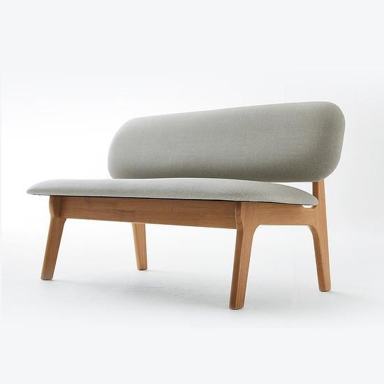 한샘 포레 릴렉스 벤치형 식탁의자 DIY, 색상:A형: 오트밀(A)