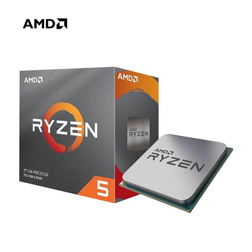 AMD 라이젠 5 3세대 3500X 마티스 헥사(6)코어 6쓰레드 65W CPU 프로세서, AMD 라이젠 5 3500X 마티스