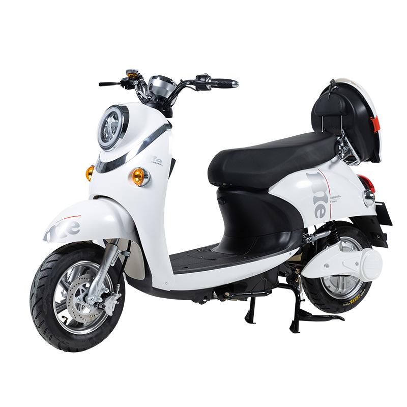 [ENGWE] WANGBEN XGW 48V-60V 20A 성인 이륜 전기 오토바이 대보 전동 스쿠터, 화이트, XGW-40KM