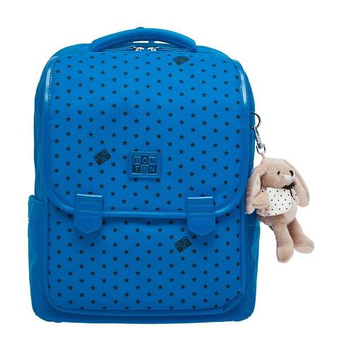봉통 [BONTON] Bonton star print mix backpack (BQS33UP14K_LU)