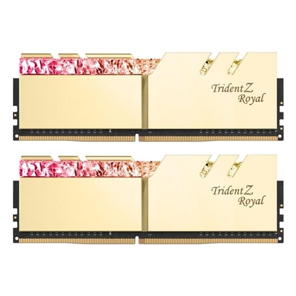 (gk)G.SKILL D4 32G PC4-25600 CL16 ROYAL 골드16Gx2, 단일상품