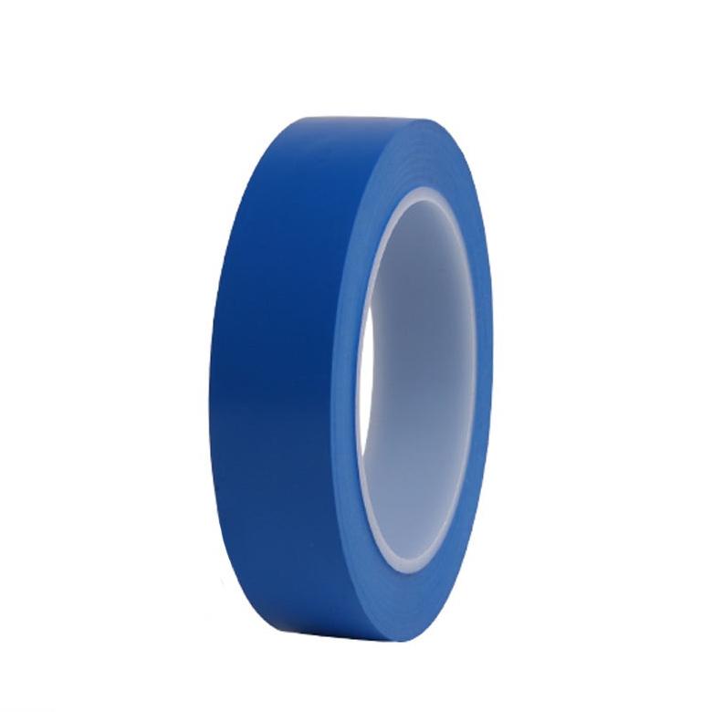 힘찬 덕성 바닥라인테이프 25mm 색상선택 색테이프 칼라테이프, 파랑