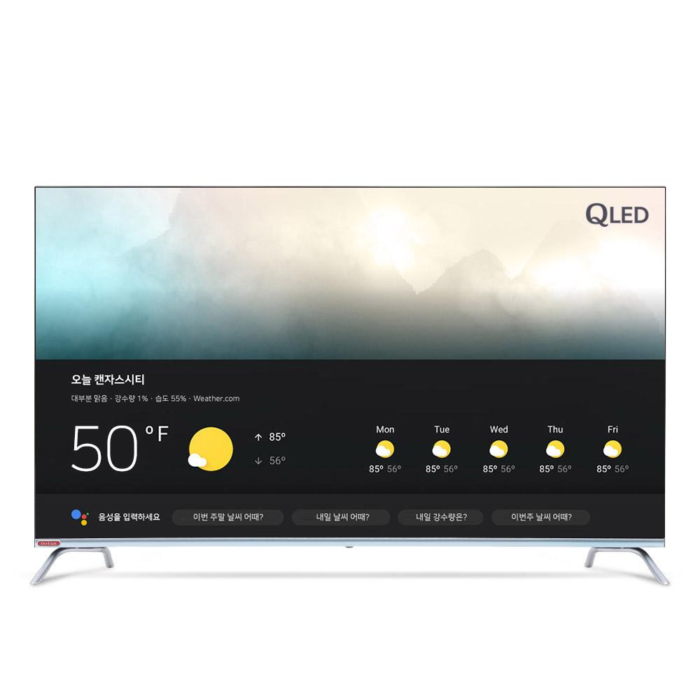 더함 50인치 안드로이드 스마트 TV 퀀텀닷 U501QLED, 택배배송(자가설치)