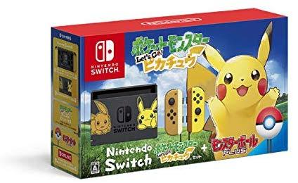 예상수령일 2-6일 이내 닌텐도 Nintendo Switch 포켓 몬스터 Lets Go! 피카츄 세트 (몬스터 볼 Plus 포함), 상세 설명 참조0