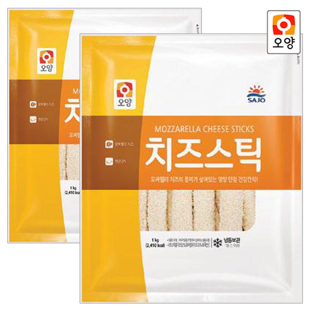 [퀴클리몰] 사조오양 치즈스틱 1kg 2개