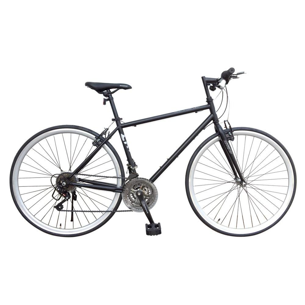 지멘스 700C 캣츠21단 25mm컬러이중림 출퇴근용 하이브리드 자전거, 170cm, 캣츠21단_무광흑/그레이(완전조립 및 테스트)