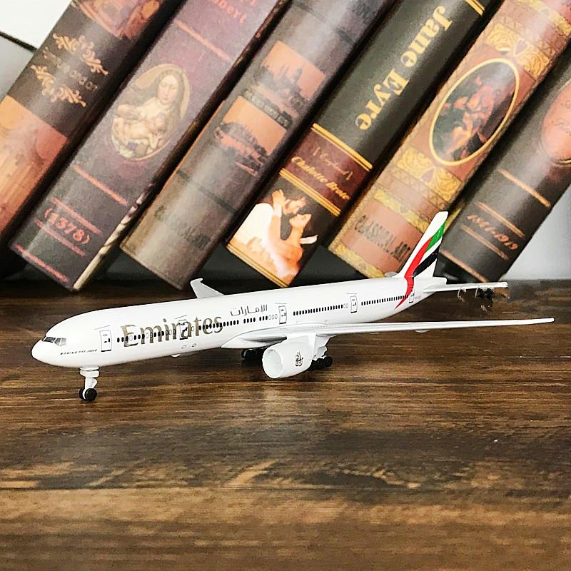 합금 여객기 비행기 완구 남항 B보잉 B747상업과 C919 에어 버스다 A380, 777 아랍 에미리트 바퀴가 있다