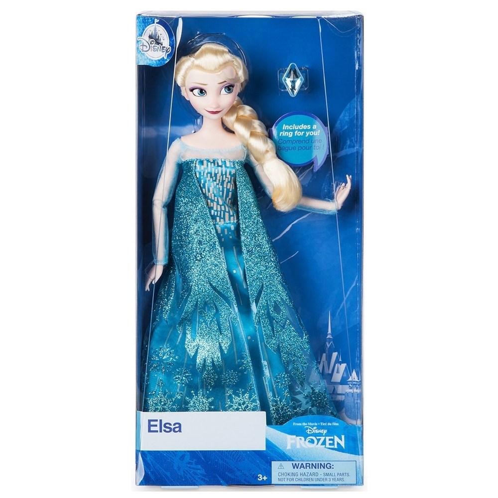 미국디즈니스토어정품 디즈니캐릭터 클래식돌, Elsa Classic Doll