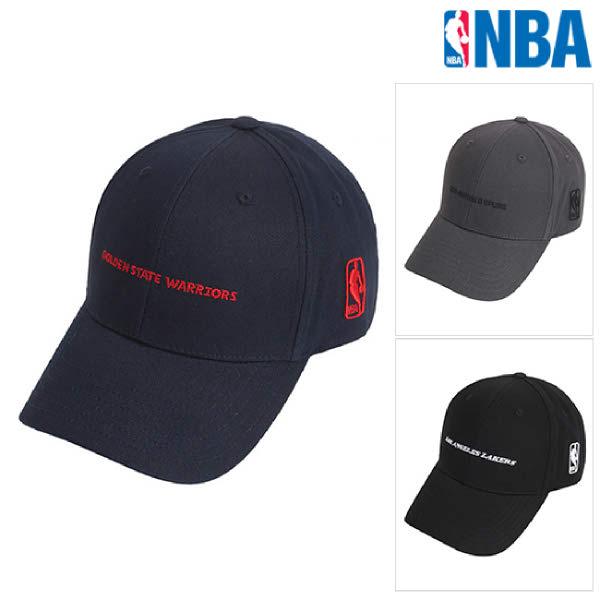 [현대백화점][NBA]엔비에이 N205AP051P 공용 스몰 레터링 커브 캡 모자