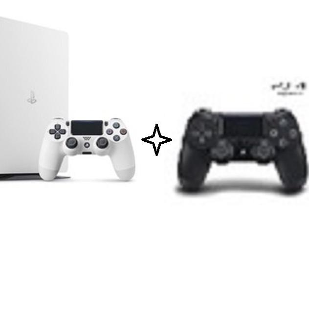 PS4 플레이스테이션4 슬림 화이트 2218 1TB 듀얼쇼크 2인 새제품