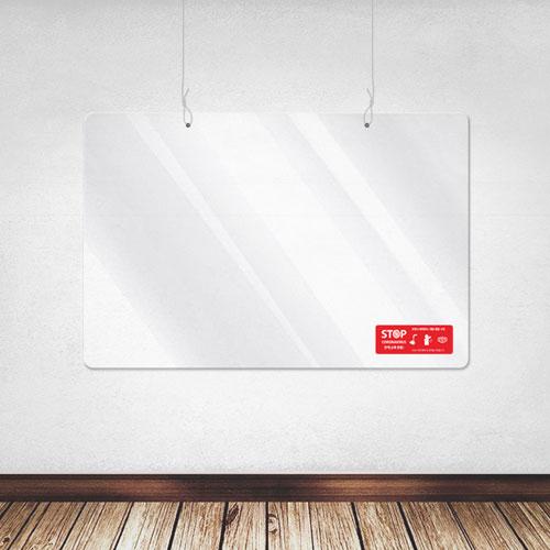 천장형 투명 가림막 600*400-비말차단/천정/칸막이, 10cm-150cm