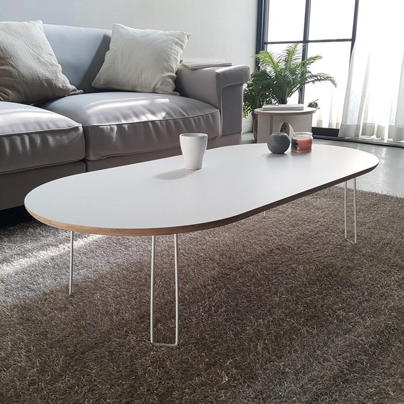 라움 화이트 엔젤 접이식 소파 테이블, 접이식엔젤소파T(스퀘어)