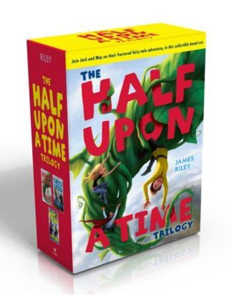 The Half Upon a Time Trilogy, Aladdin Paperbacks