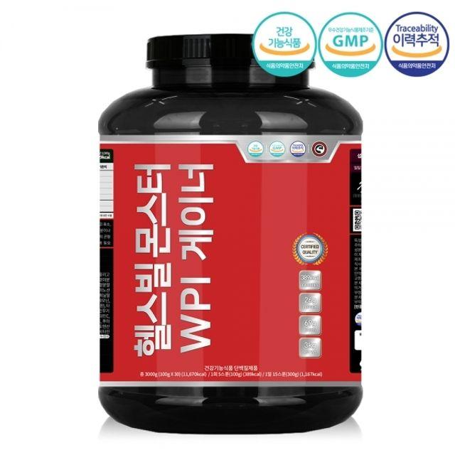 몬스터 WPI 게이너 분리유청 단백질 쉐이크 벌크업 M/B6B7DA8 + mm, 본상품선택, 본상품선택