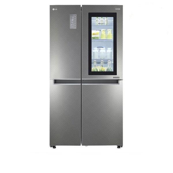 LG전자 S831SN75 디오스 노크온 매직스페이스 양문형 냉장고 820L, 단일상품