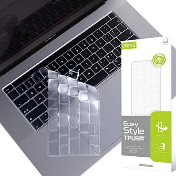 VFENG 프리미엄 초박형 소프트 키보드 커버 스킨 2019 + MacBook Pro 16 인치 (모델명 : A2241) 및 2020+ MacB, 단일상품, 단일상품