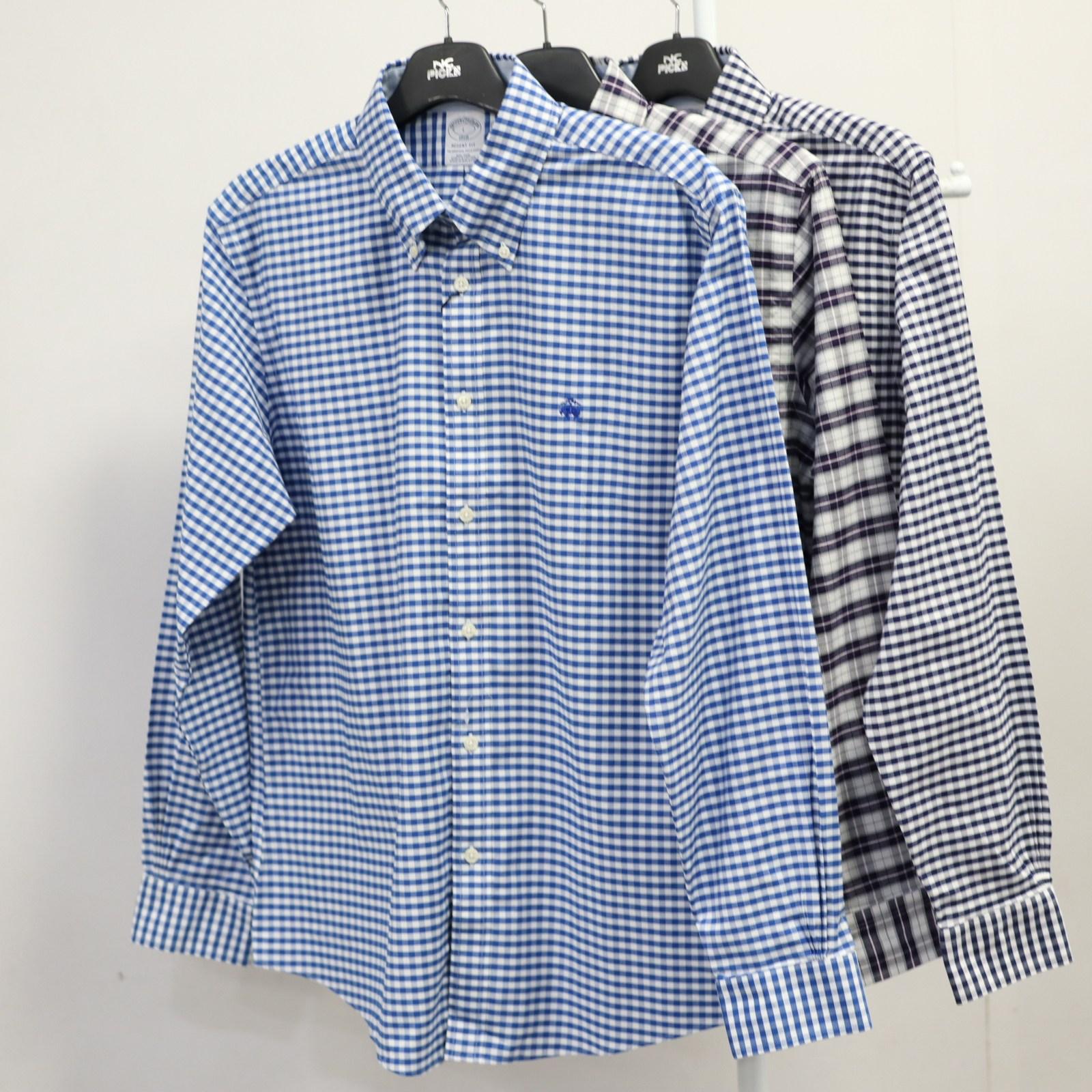 브룩스브라더스 체크 셔츠